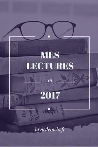 Mes lectures en 2017